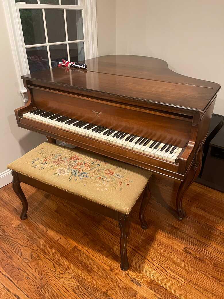 Sohmer and company piano