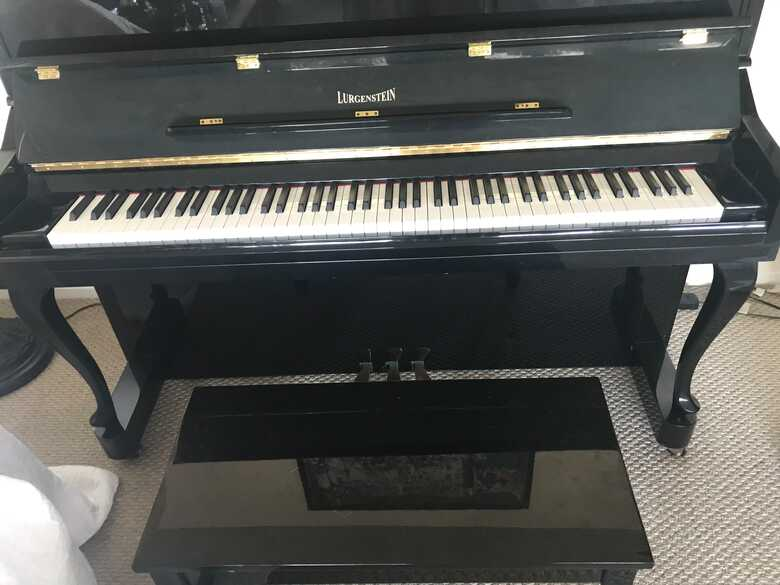 Lurgenstein Upright Piano Excellent Condition Original Owner