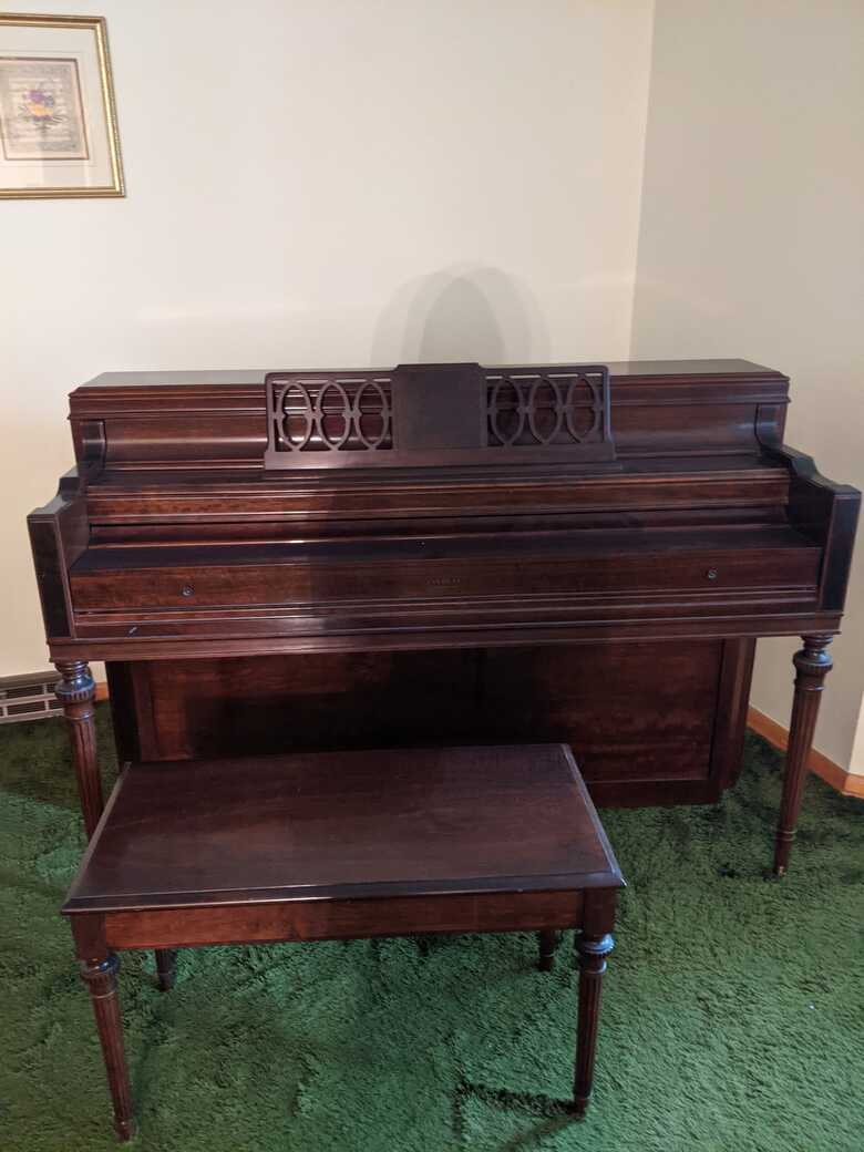 Upright Everett Piano