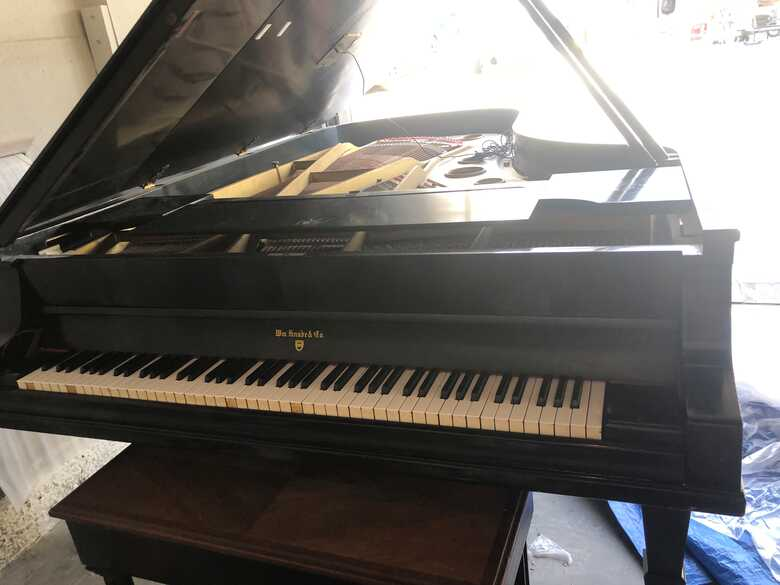 "Wm Knabe & Co 7' 6"" SemiConcert Grand Piano"