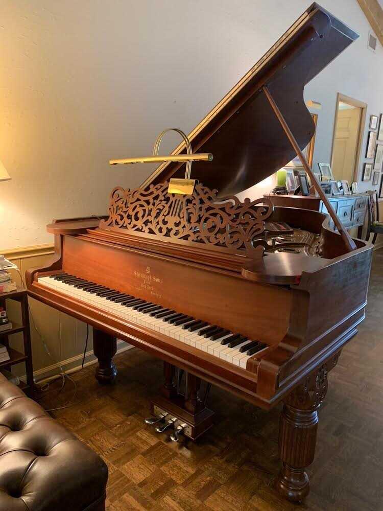 Pristine condition 1887 Steinway Grand 85 note piano