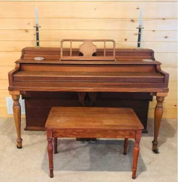 A PART OF HISTORY - WARTIME WW2 USO PIANO