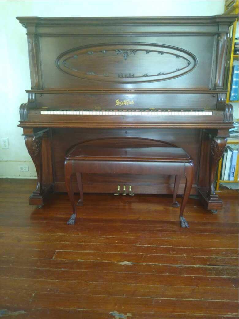 Beautiful Solid Mahogany Piano