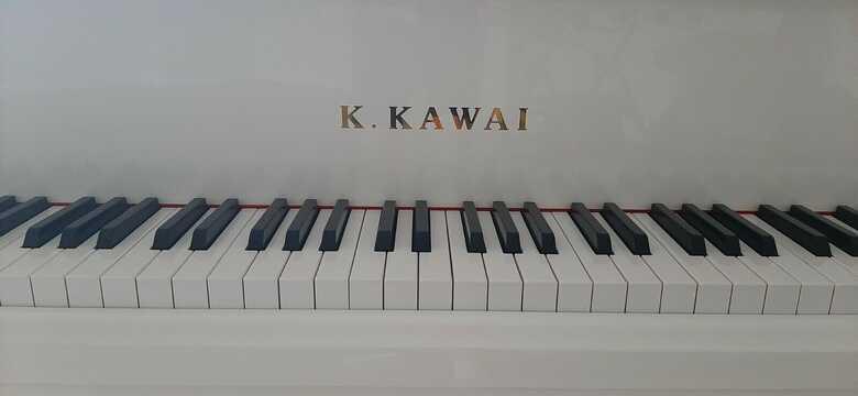 NEW GM-10K Kawai White Gloss Baby Grand - Pristine Condition