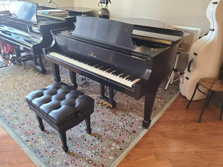 """1952 Steinway Grand Piano, Model """"M"""""""