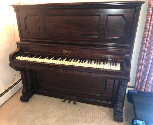 A beautiful and unusual piano