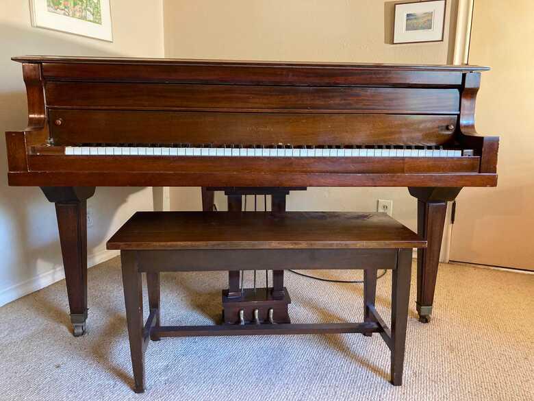 Learner piano: Petite grand Settergren