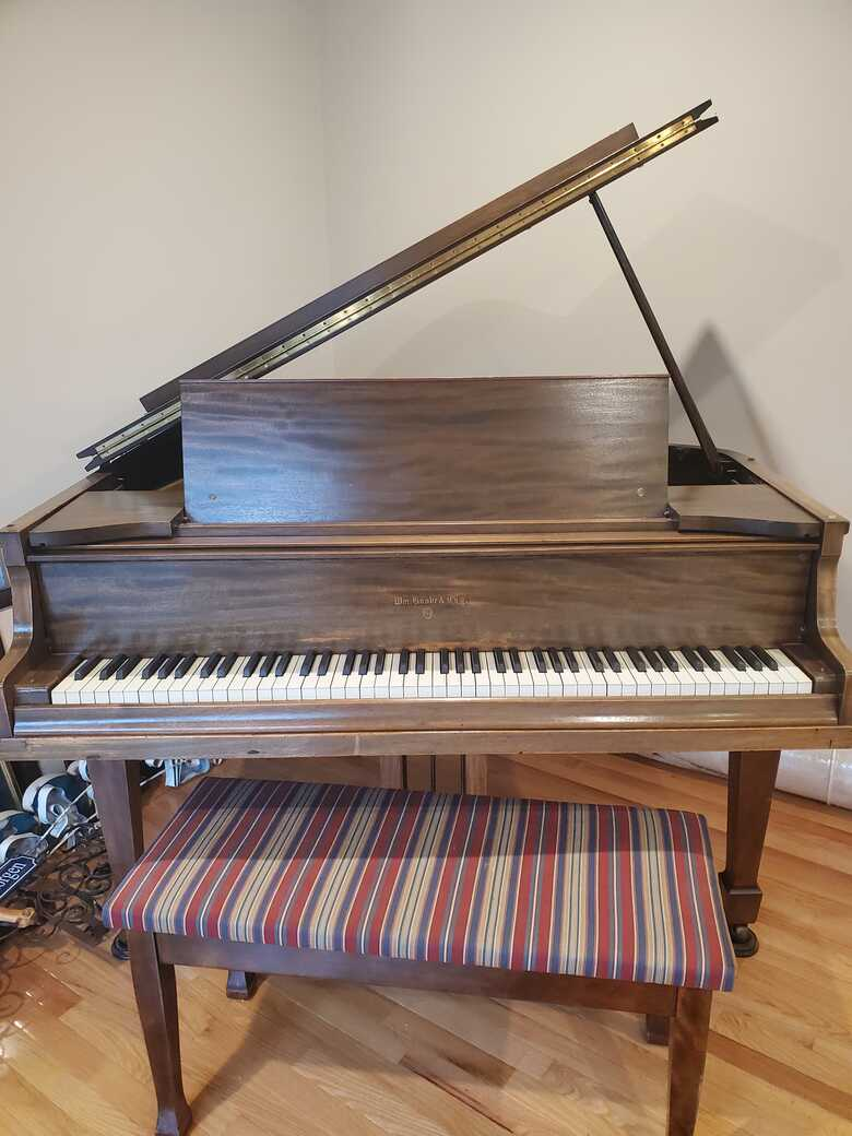 Antique Knabe Baby Grand