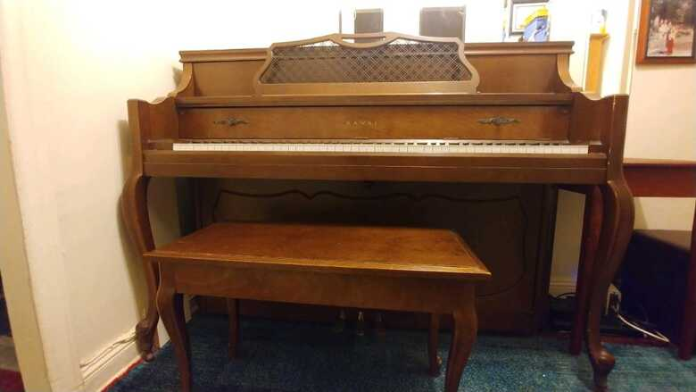 """Kawai 43"""" Console Piano Model 802-F"""