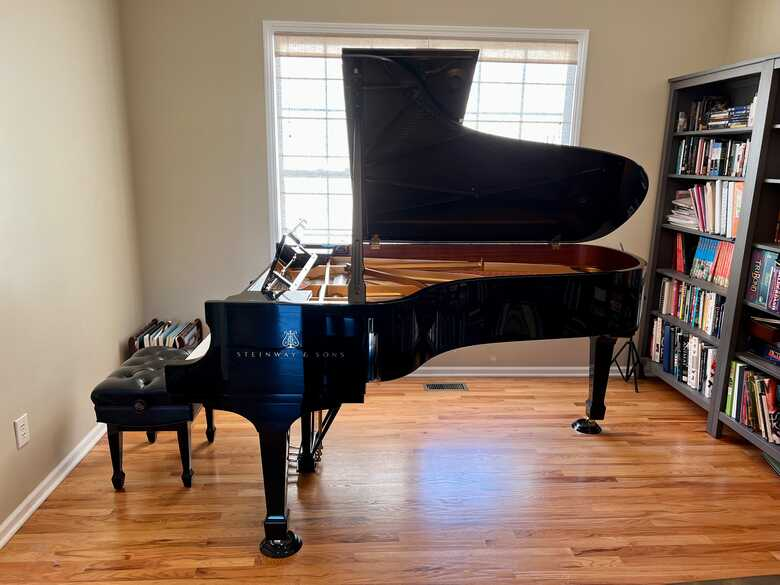 2018 Steinway Model B in mint condition