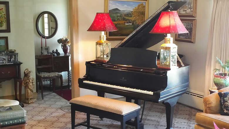 1889 STEINWAY MODEL A GRAND PIANO
