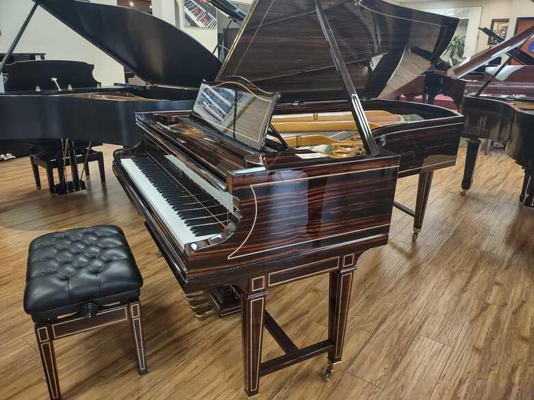 Restored C.Bechstein semi concert grand piano