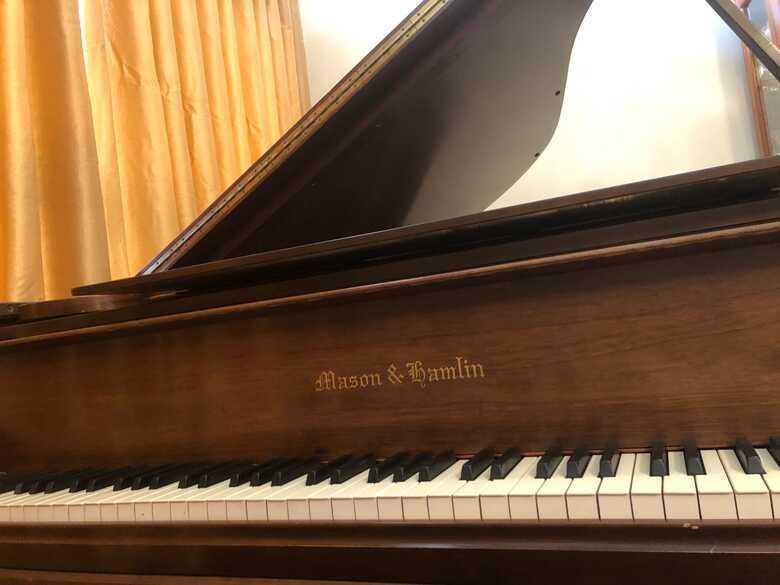 Mason Hamlin BB Semi Concert Grand Piano