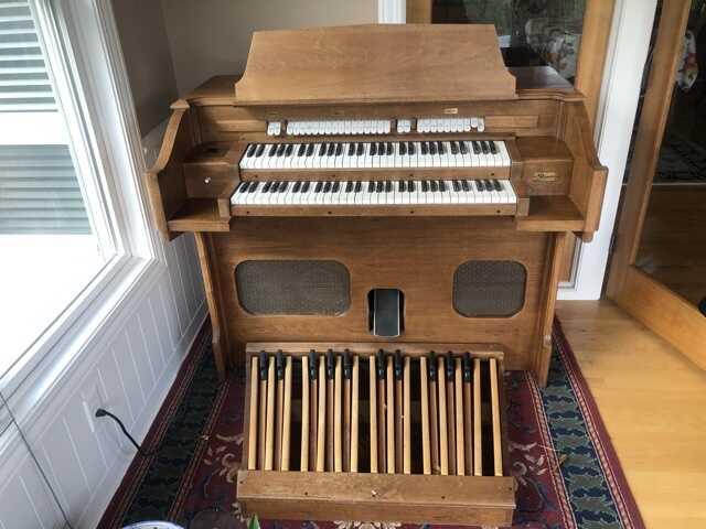 Organ in good shape