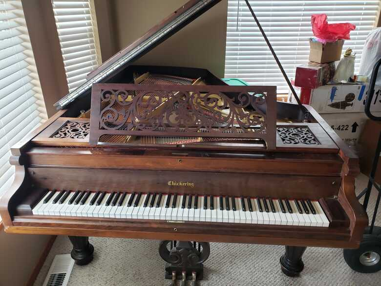 Gorgeous Antique Chickering Piano