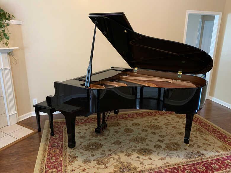 Yamaha C3 w/ piano module upgrade