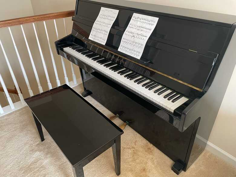 Bergmann (Young Chang) Upright Piano for sale