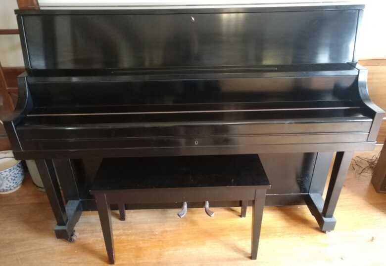 "Upright 45"" Yamaha Piano"