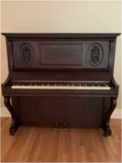 Antique Upright Ludwig Piano