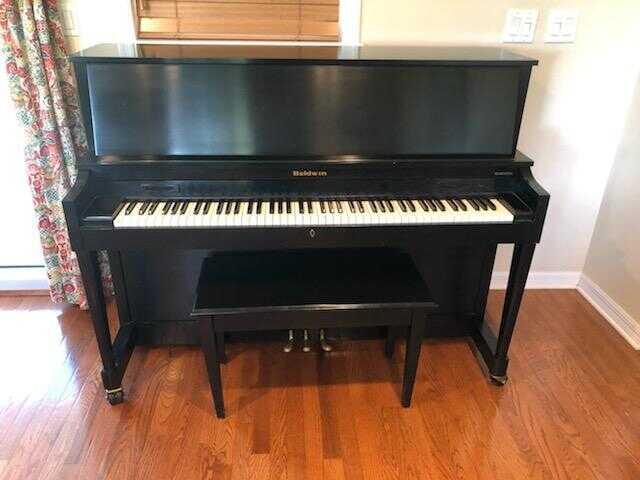 Original Baldwin Upright, Pre-Gibson Era Piano