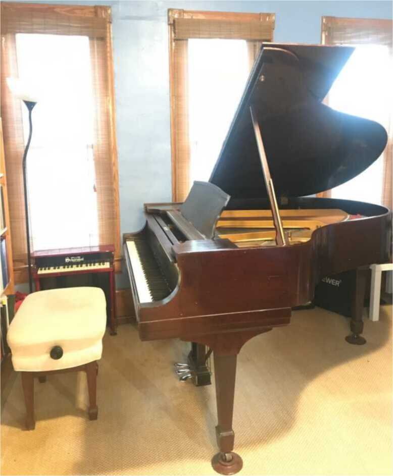well-loved & maintained, warm sounding Steinway M $15000 OBO