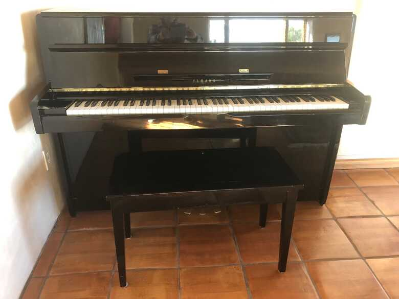 Yamaha Polished Ebony Upright Piano