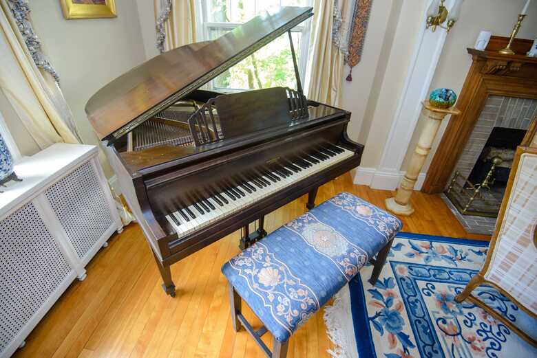Brambach Baby Grand Piano & Bench