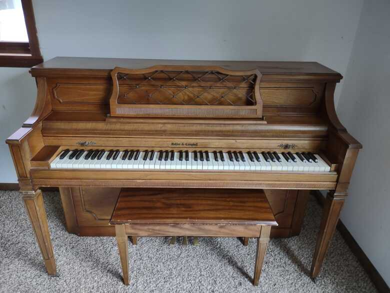Kohler & Campbell Upright with Bench