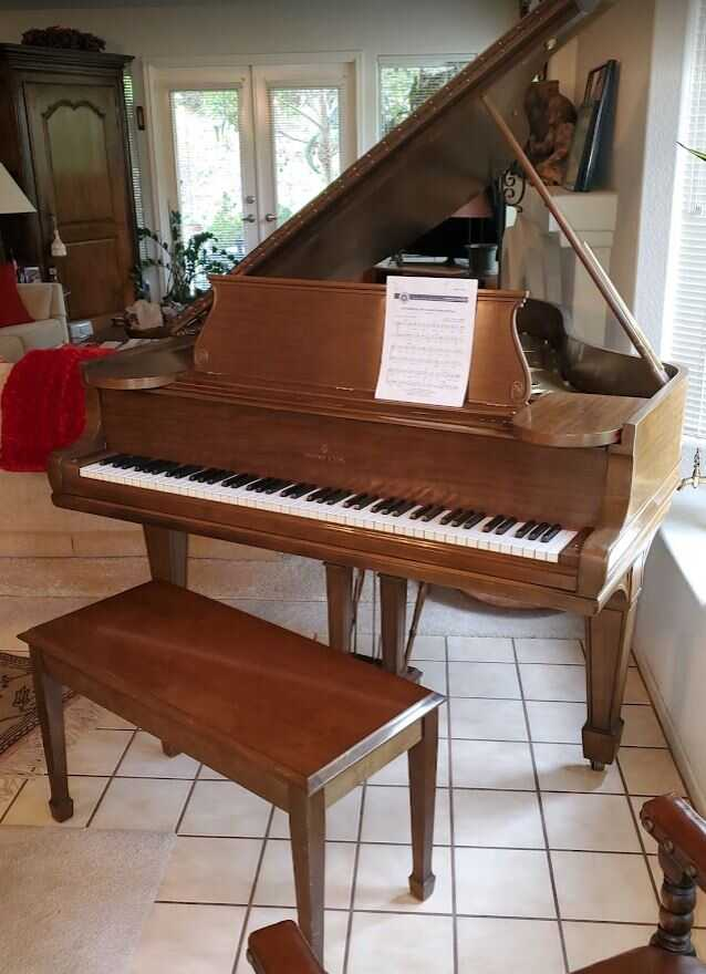 1902 Steinway Grand (Model 0) in new condition