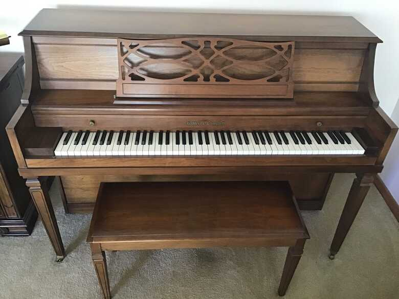 Koehler and Campbell Console and Bench for a Good Home