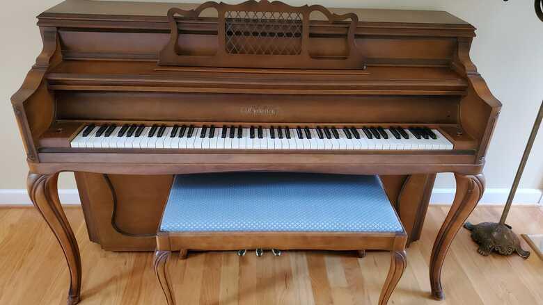 Upright Chickering Piano