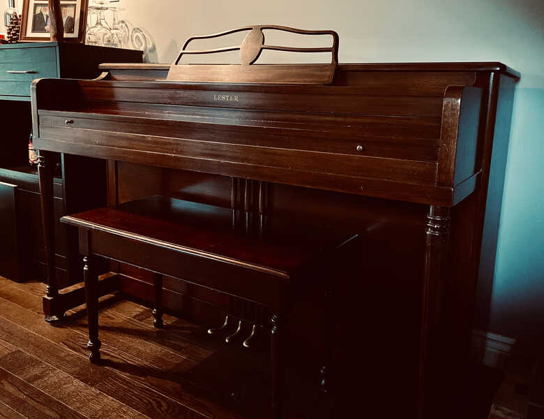 1945 Upright Lester Piano in Excellent Condition