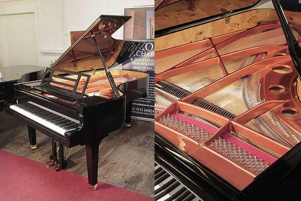 Feurich model F218 Concert I grand piano in black