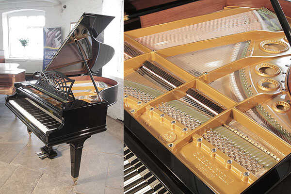 Restored, 1924, Bechstein Model A1 grand piano in black