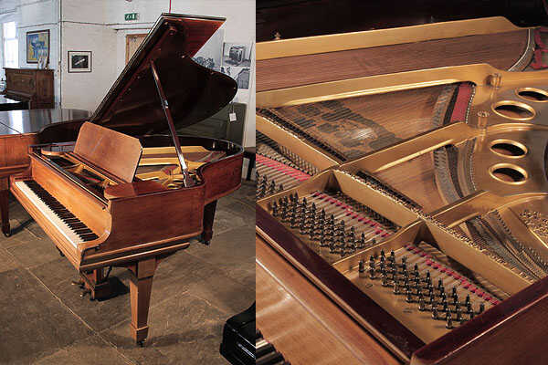 A 1907, Steinway Model O grand piano in rosewood