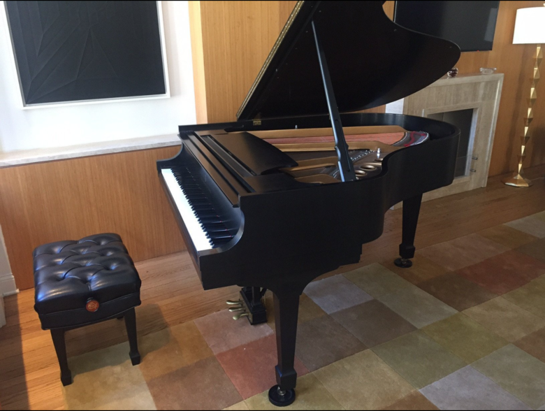 1988 Steinway Grand Piano Model L with Steinway Signature
