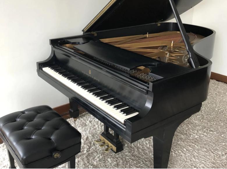 1989 Steinway Grand Piano Model B | Ebony