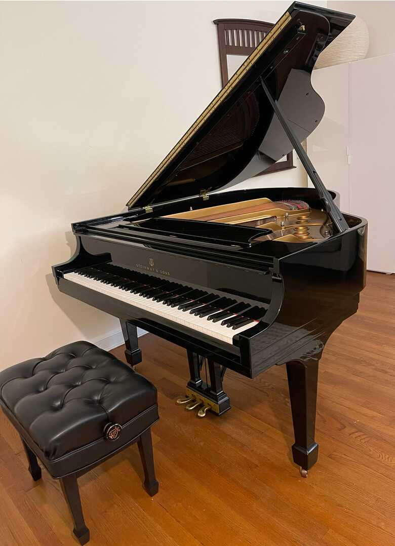 2000 Steinway Grand Piano Model S | High Gloss Ebony