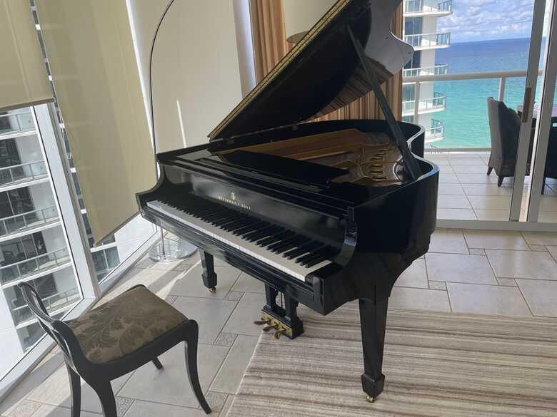 1942 Steinway Grand Piano Model M | High Gloss