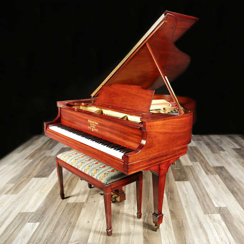 Restored Steinway Grand Piano, Model M - Sold by Lindeblad