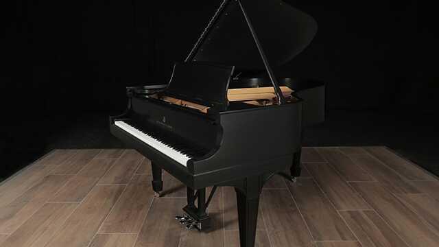 Steinway Grand Piano, Model O- Restored by Steinway