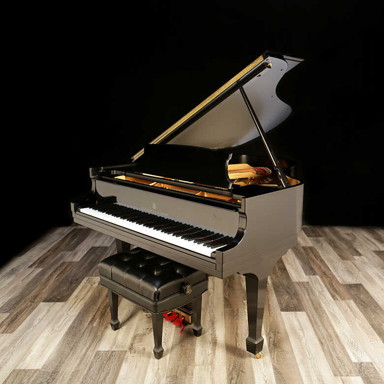"""2015 Steinway Grand, Model M - 5'7"""", With Player System"""