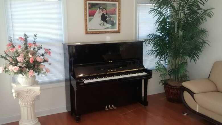 """Yamaha 50 """" Upright grand piano"""