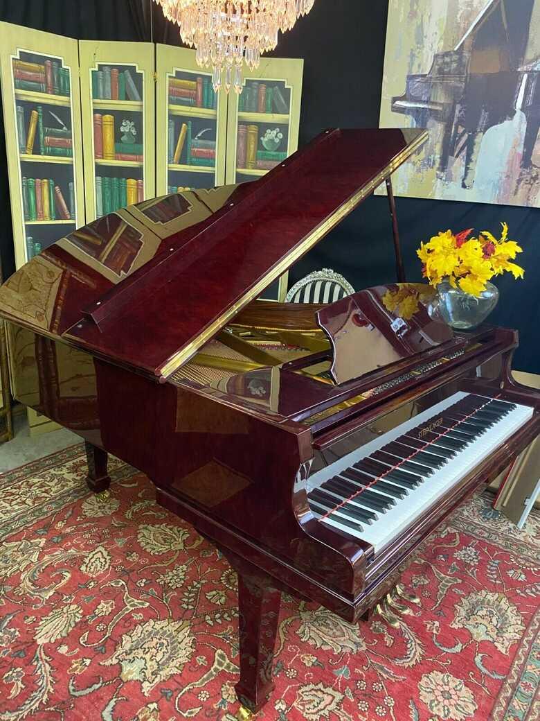 Stunning 2022 brand new grand piano & Steinway bench