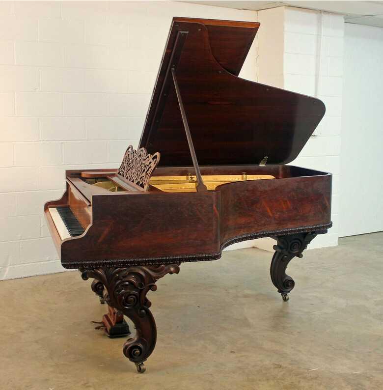 Grandiose art case grand piano (free Yamaha key felt cover)