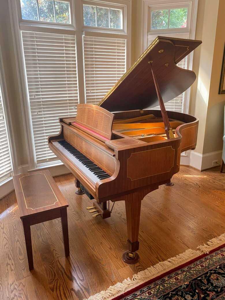 Story & Clark self player baby grand piano
