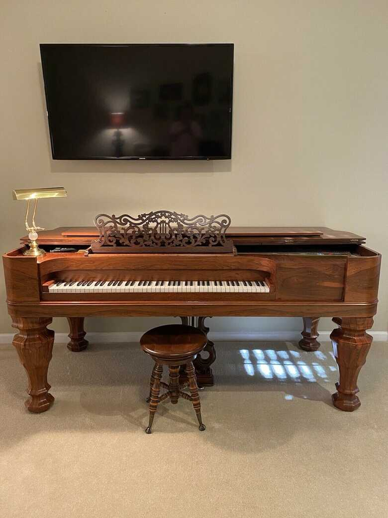 Steinway & Sons Grand Piano 1864