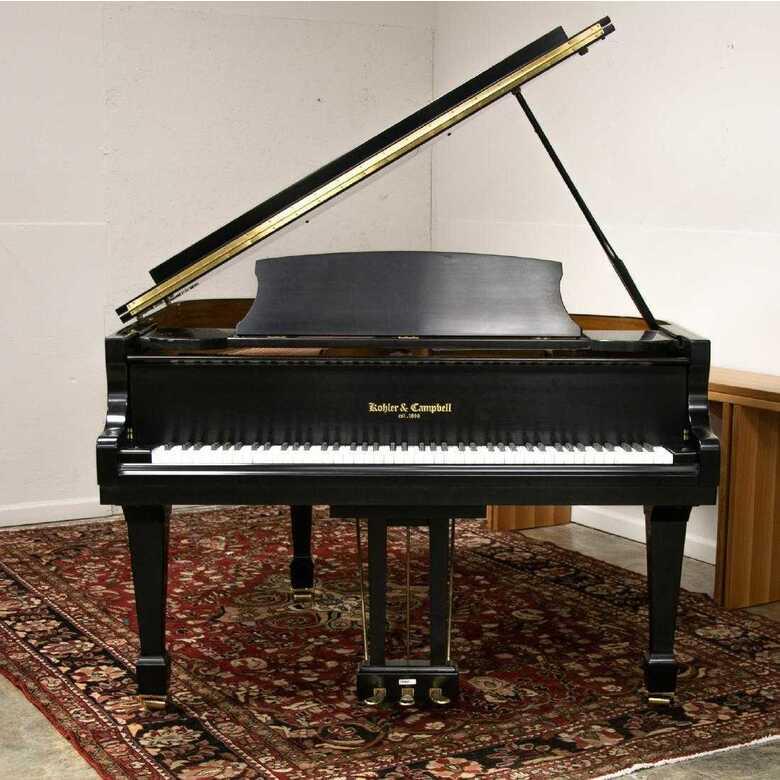 Very nice 4'11 baby grand piano & Kawai bench
