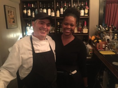 Chef Salvatore Della at La Soffitta Vineyard Haven Restaurant Martha's Vineyard