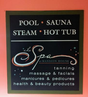 Mansion House Hotel Vineyard Haven Spa Pool Hot Tub Steam Room Martha's Vineyard Vacation Special